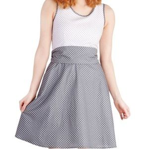 Modcloth Dresses - Bea & Dot by ModCloth Polka Dot Dress